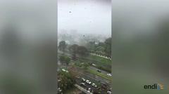 Vídeo muestra el azote de un tornado en San Juan