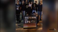 Conferencia del movimiento estudiantil previo al cierre de portones de la UPRRP
