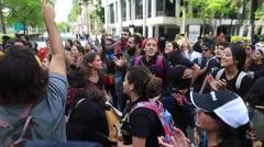 Estudiantes de la UPR se manifiestan en contra de la Junta de Supervisión Fiscal