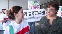 Profesores de la UPR se unen a las protestas