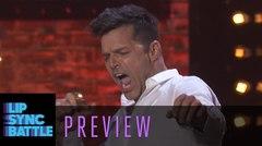 Ricky Martin en el Lip Sync Battle