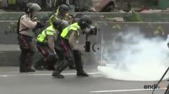 Suman ocho los muertos en las protestas venezolanas