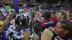 Criollas se coronan como campeonas del voleibol