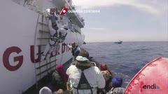 Rescatan decenas de inmigrantes en el Mediterráneo
