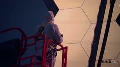 La NASA prepara telescopio para su misión de 2018