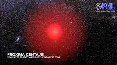 Un planeta en la estrella más cercana a la Tierra