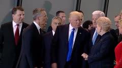 El empujón que dio Trump al líder de Montenegro del que todos hablan