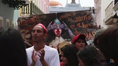 Resumen en fotos de la manifestación hacia Fortaleza