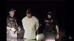 Divulgan vídeo de Tiger Woods mientras conducía borracho