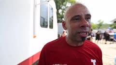 Oscar Serrano participa en la caminata Da Vida