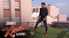 Neymar se roba el show en Jimmy Kimmel Live