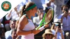 Jelena Ostapenko se alza con la victoria en Francia