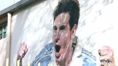 Argentina se prepara para la gran boda de Messi