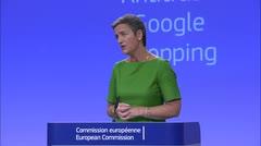La UE impone a Google multa récord de 2,424 millones de euros