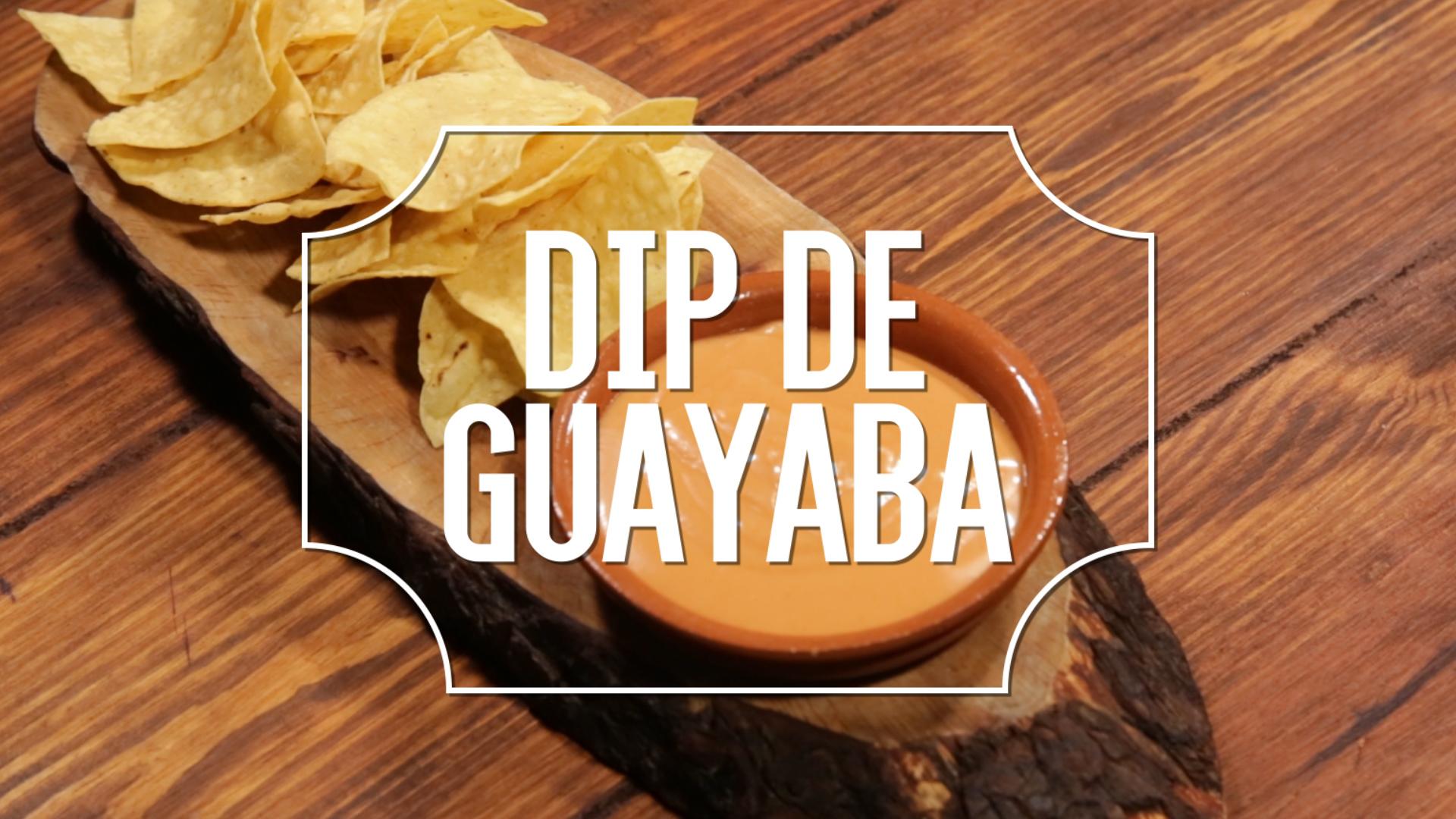 Receta del día: dip de guayaba