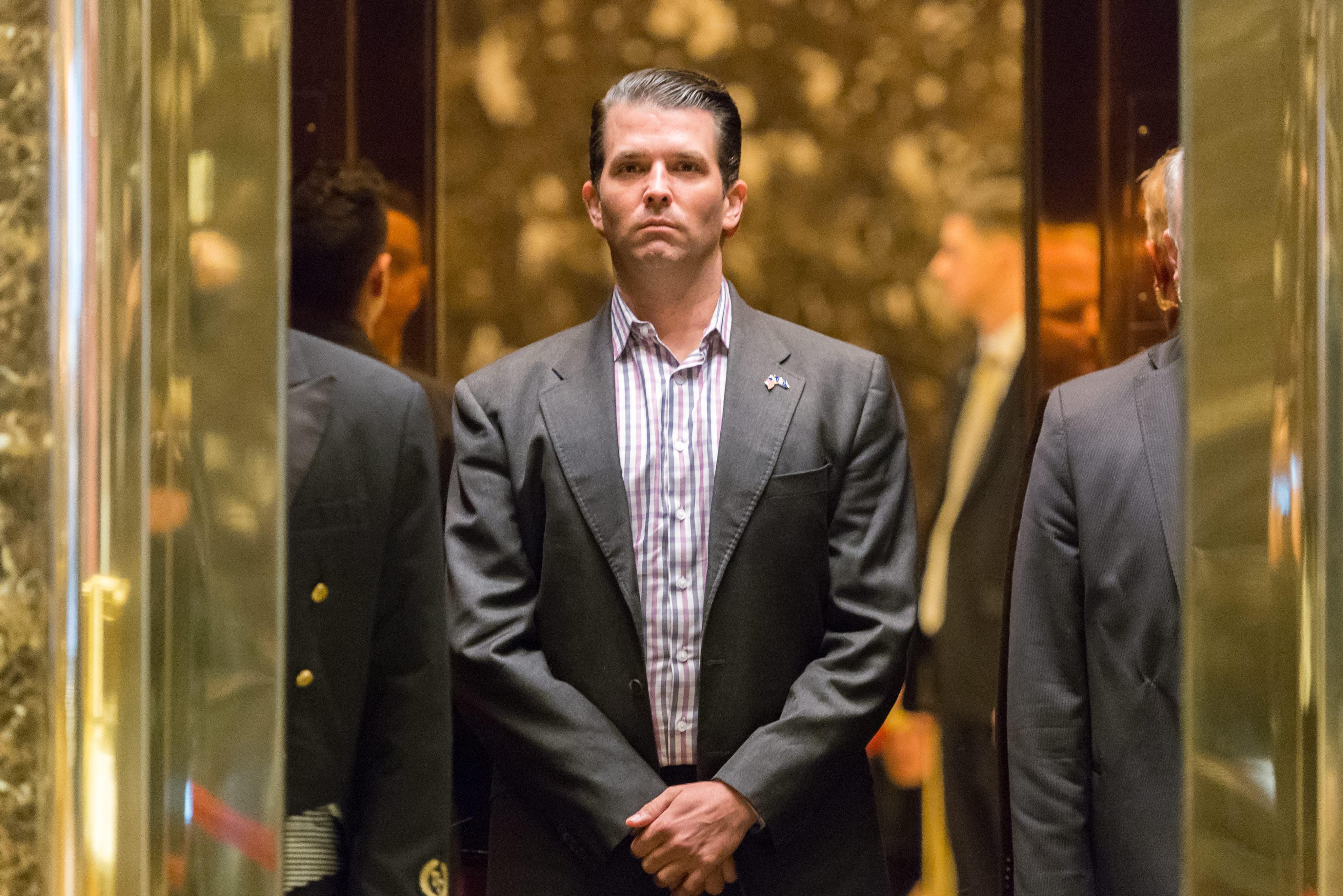 Cómo el hijo de Donald Trump quedó involucrado con Rusia por un correo electrónico
