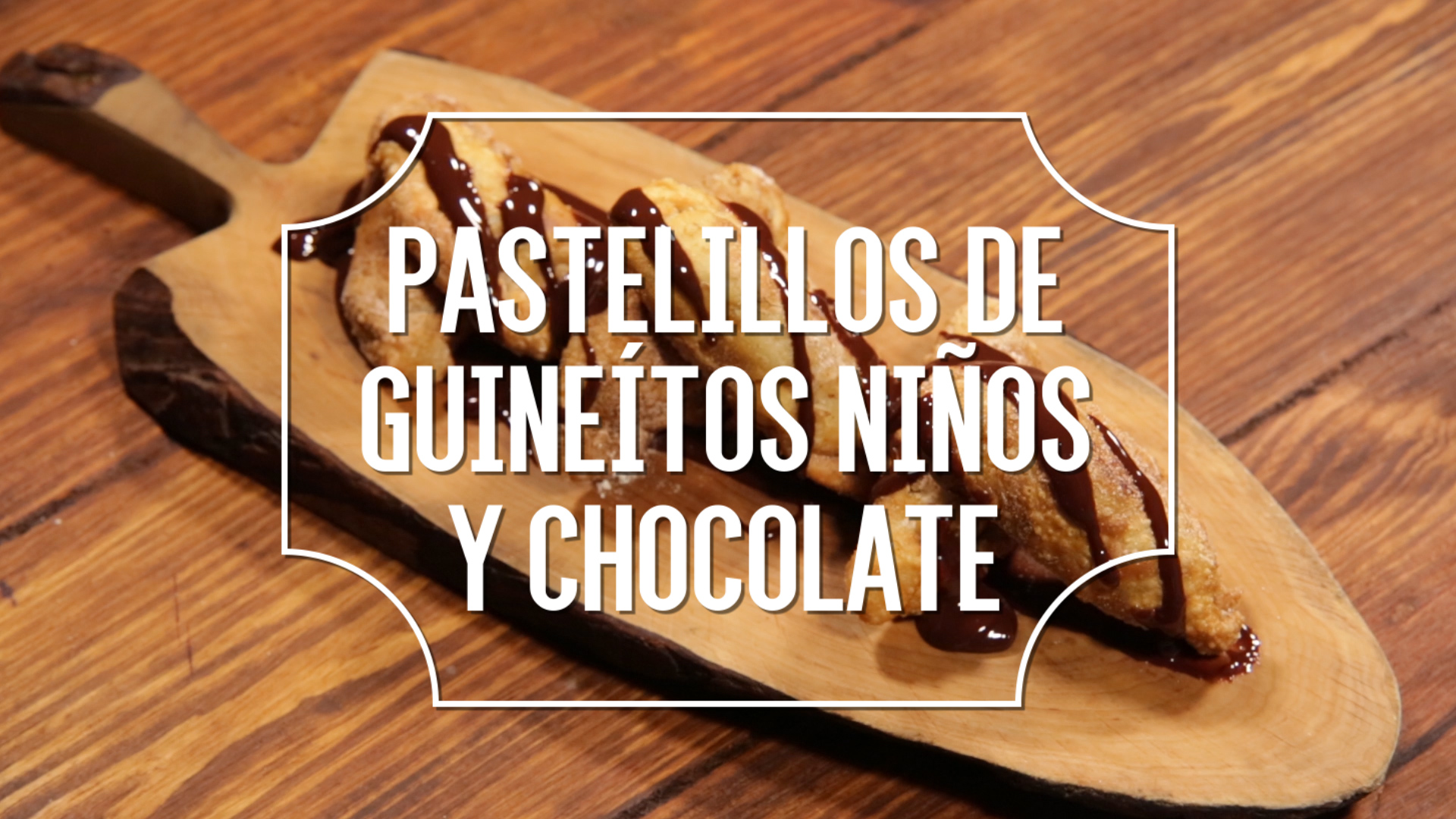 Receta del día: Pastelillos de guineítos niños y chocolate