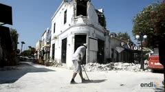 Mueren dos turistas tras sismo frente a islas griegas del Egeo