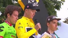 Británico Froome ganó Tour de Francia, colombiano Urán segundo