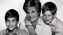 Guillermo y Enrique conversaron con Diana el día de su muerte