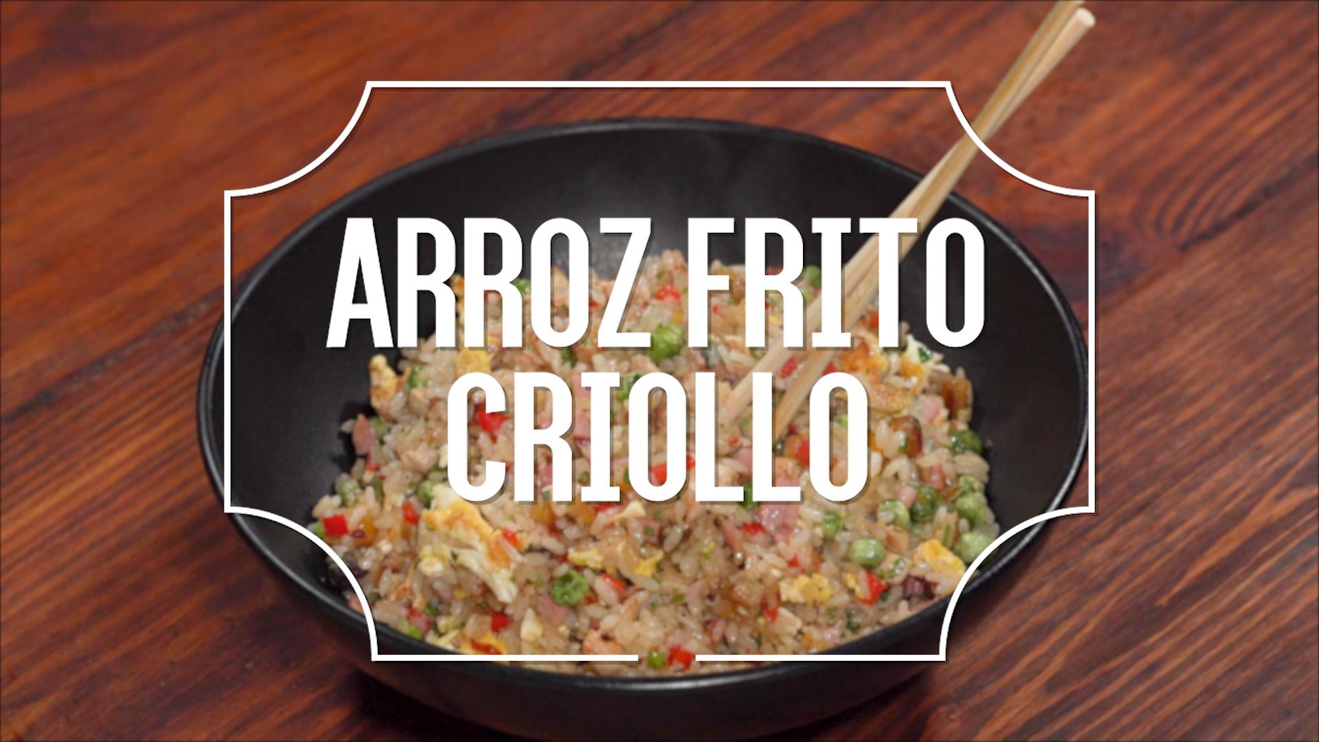 Receta del día: Arroz frito criollo