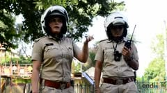 Policías indias luchan contra la violencia machista en Jaipur