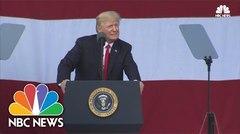 Donald Trump promueve su agenda política ante los Boy Scouts