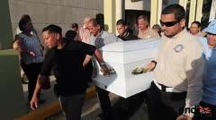 Pueblo se desborda por familia fallecida en accidente
