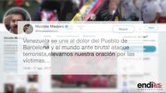 Condena en el mundo entero a atentados de Barcelona