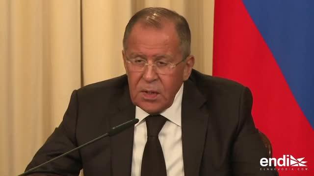 Washington suspende temporalmente concesión de visados en Rusia
