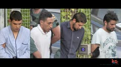 Sospechosos de atentados en Cataluña comparecen ante la justicia