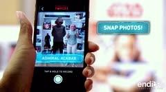 Star Wars lanza una aplicación interactiva