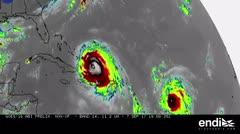 NASA publica imágenes sobre la escalofriante ruta de Irma
