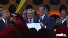 COI aprueba acuerdo para Juegos París-2024 y Los Ángeles-2028
