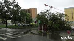 Al menos dos muertos por el paso del huracán María en el Caribe