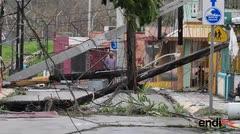 El noreste de Puerto Rico intenta levantarse de la devastación