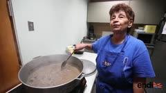 La cocinera de los rescatistas del huracán María
