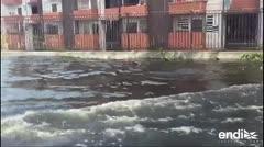 Órdenes de desalojo en Puerto Rico por falla de represa