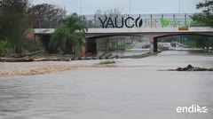 Se desborda el río Luchetti en Yauco