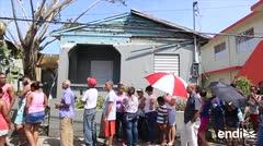 Barrio Obrero recibe agua y comida tras sufrir el golpe de María