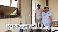 La lluvia sigue inundando el hogar de un matrimonio en Dorado