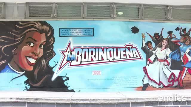 """""""La Borinqueña"""", una heroína del cómic al rescate de Puerto Rico"""