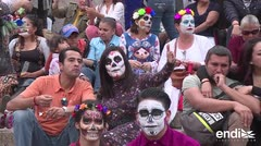"México celebró fiesta de ""La Catrina"""