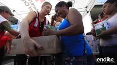 Tenistas llevan ayuda Centro Tau