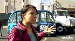 Minibús sin chofer choca durante su primera excursión turística