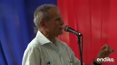Oscar López recibió emotivo homenaje en Cuba