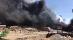Tremenda pérdida arqueológica tras incendio en Perú