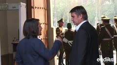 Atacan con cuchillo a senador chileno durante campaña electoral