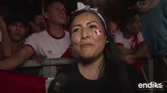 Perú es una fiesta tras clasificar al Mundial de Fútbol