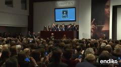 Cuadro de da Vinci bate récord de subasta